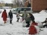 Lepienie bałwana 25.02.2009 r. :: Lepienie bałwana 25.02.2009 r.